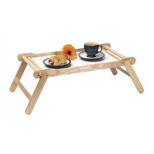 table pliante plateau en bois achat vente pas cher. Black Bedroom Furniture Sets. Home Design Ideas