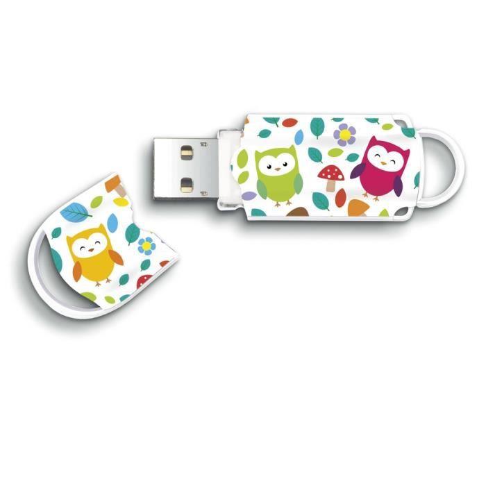 Integral clé USB Xpression Hibou 16Go