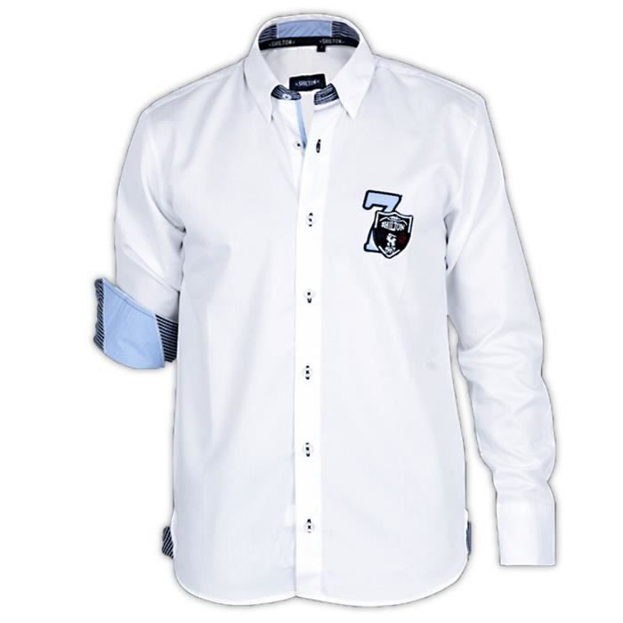 Chemise homme manches longues Rugby France Shilton