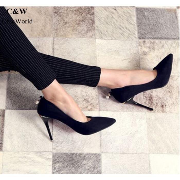 Nouveau Mode Perle Désign Sweet Chaussure Femme... 6ajTNWtWlT
