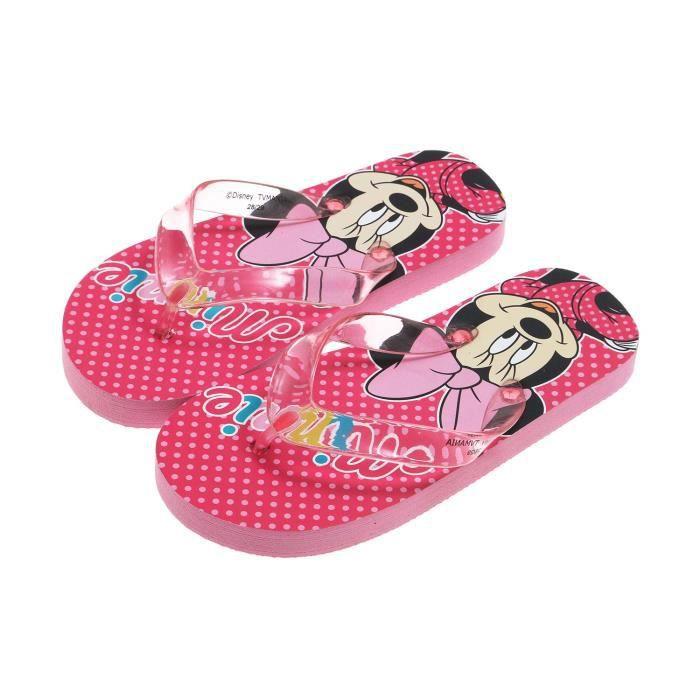 Disney Minnie Tongs de bain EEWNBeba