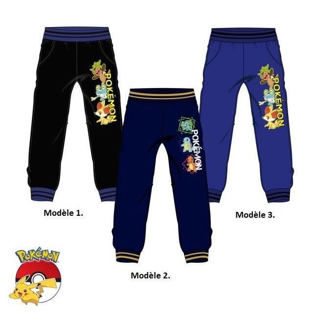 eb9fd87a76806 Bas de jogging POKEMON GO pantalon survêtement enfant 4 à 12 ans ...