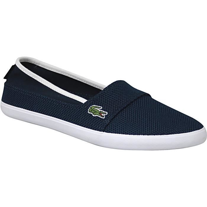 Chaussures Lacoste Marice bleues femme b6kbpJPYd
