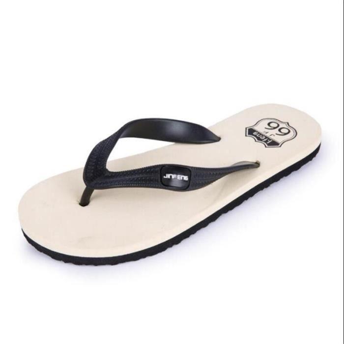 Nouvelle Mode Hommes Été D'ete Pour Sandale Antidérapant Hommes