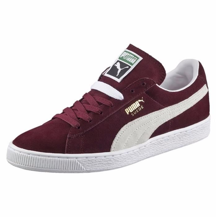 baskets suede classic+ homme puma 35263475