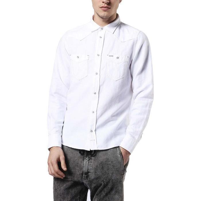 dd60a06a7f3b CHEMISE - CHEMISETTE Vêtements homme Chemises à manches longues Diesel