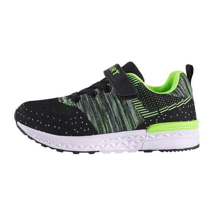 respirant chaussures léger de dérapant anti sport de enfants chaussures 2018 course mouche pour 4TRnwSqaad