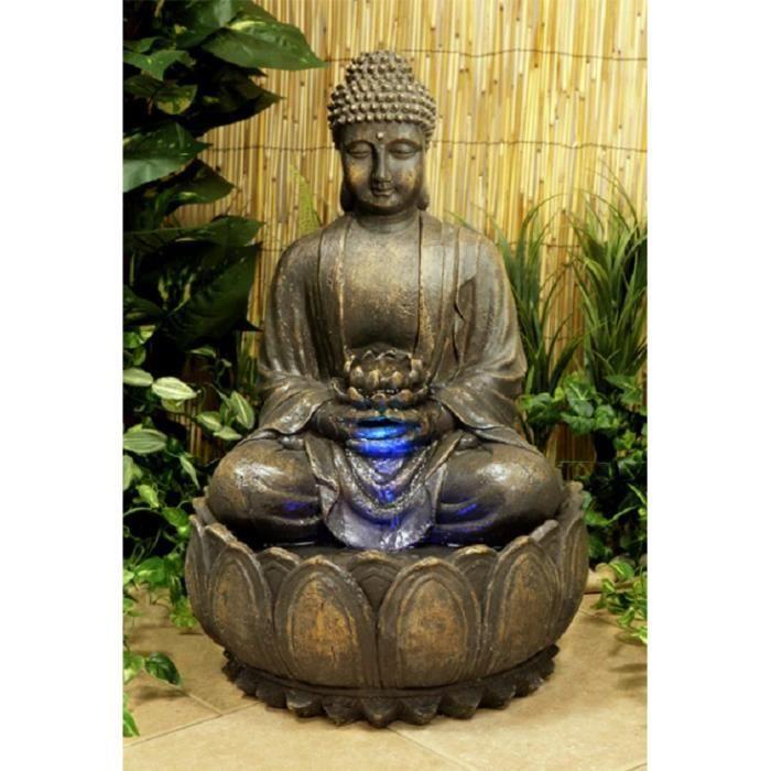 Fontaine Bouddha Exterieur fontaine bouddha exterieur - achat / vente pas cher