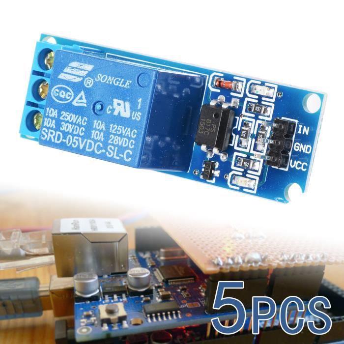 5V Module de relais electronique a bouclier de 8 canaux pour Arduino PIC AVR MCU DSP ARM R SODIAL