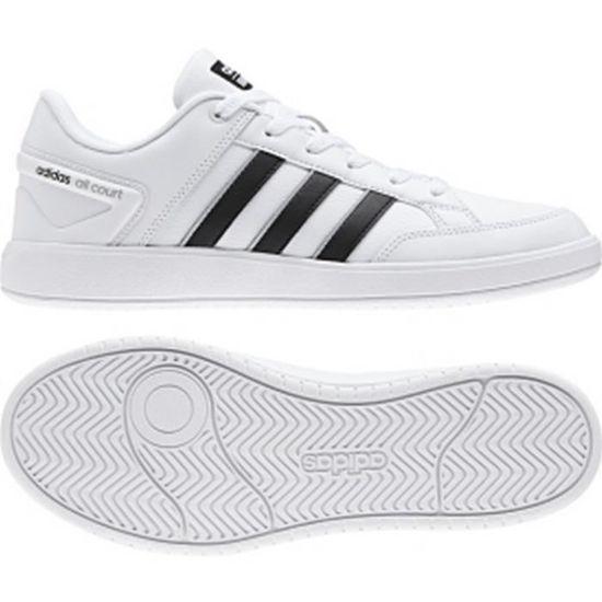 ADIDAS NEO Baskets All Court Chaussures Homme Blanc - Achat   Vente basket  - Soldes  dès le 9 janvier ! Cdiscount e7eaee89686d