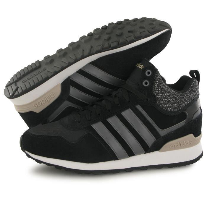 baskets Adidas Wtr mode 10xt homme Mid noir PW6azPv