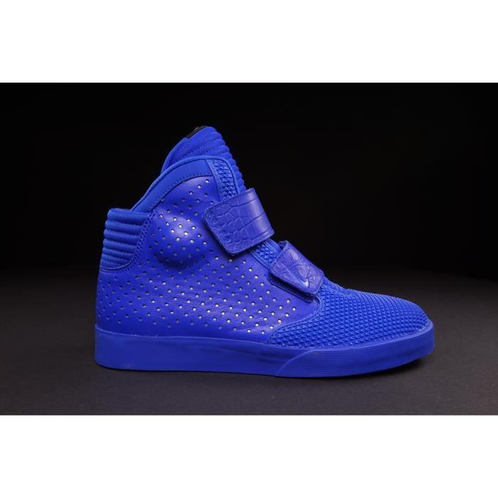Baskets Nike Flyste Prem 2K3 PRM, Modèle 677473 400 Bleu.