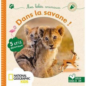 Livre 3-6 ANS Mes bébés animaux de la savane