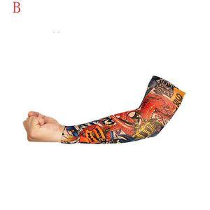 TATOO - BIJOU DE CORPS Nylon Elastic Temporary Sleeve Designs Bas de bras