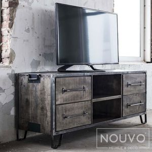 meuble industriel profondeur 60 achat vente pas cher. Black Bedroom Furniture Sets. Home Design Ideas