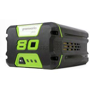 ALIMENTATION DE JARDIN GREENWORKS TOOLS Batterie Li-lon - 80 V - 4 Ah
