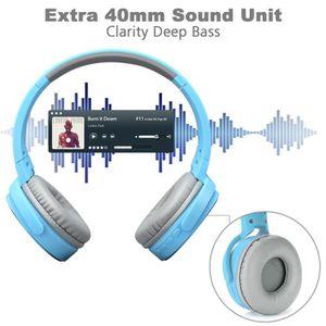 CASQUE - ÉCOUTEURS Excelvan Casque Bluetooth Sans Fil Stéréo Réglable