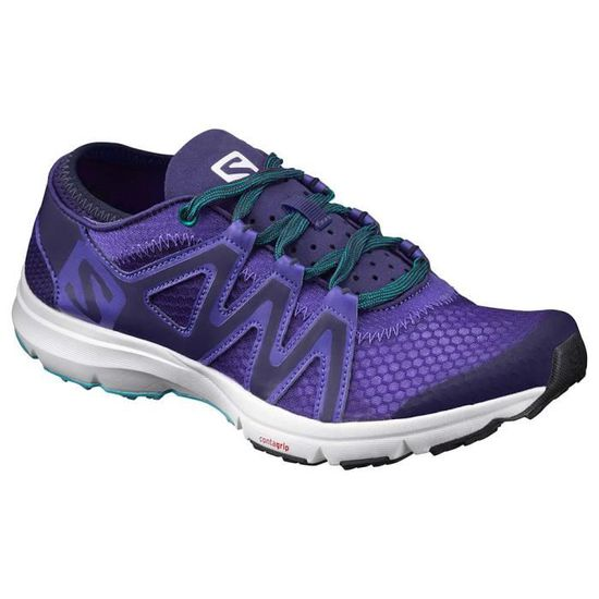 Chaussures femme Multisports Salomon Crossamphibian Swift Violet Violet - Achat / Vente chaussures multisport