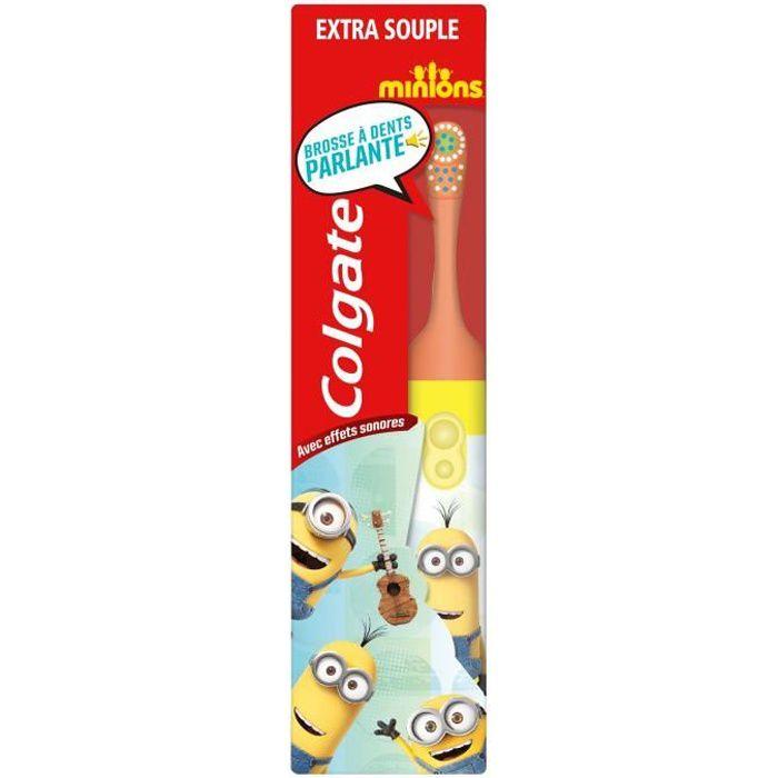 COLGATE Kids Brosse à Dents électrique - Minions