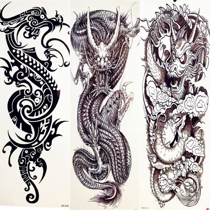 Dragon Signe Chinois Tatouage Cherianne Signification Www