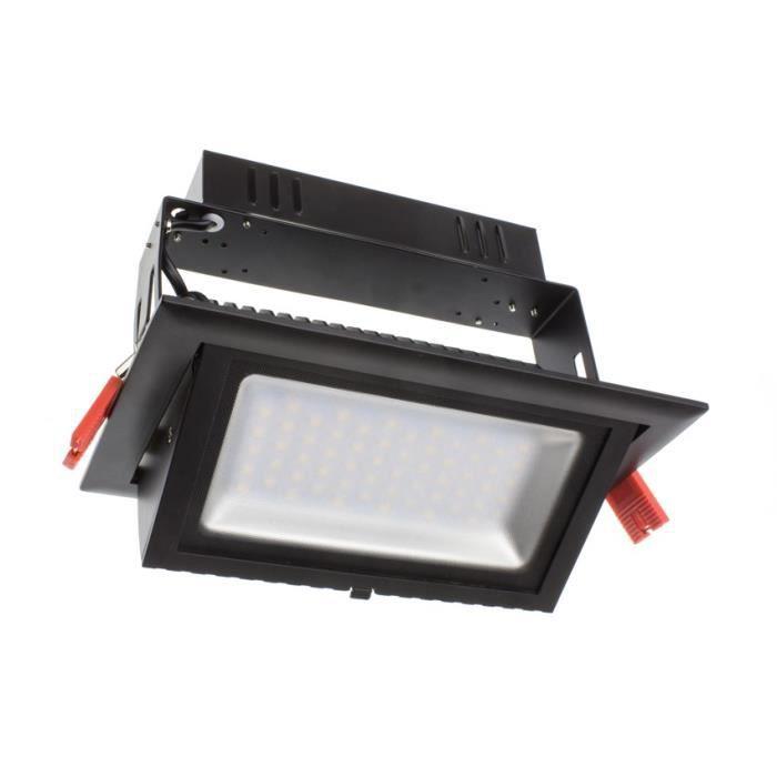 projecteur led orientable rectangulaire