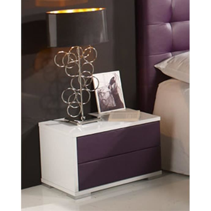 table de nuit recouverte mod le lion achat vente chevet table de nuit recouverte pu. Black Bedroom Furniture Sets. Home Design Ideas