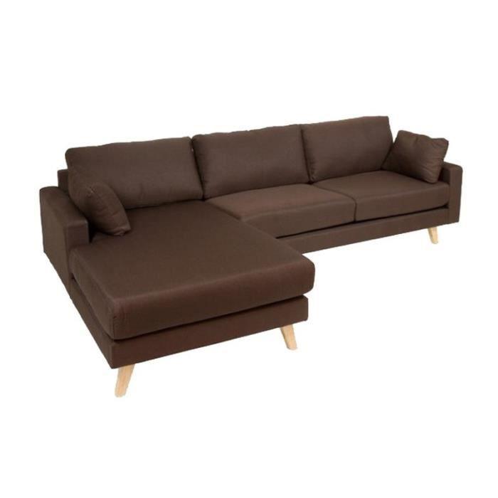 Coussin D Assise Pour Canape #11: Canapé D Angle Chaise Longue Coussins En Tissu Cho