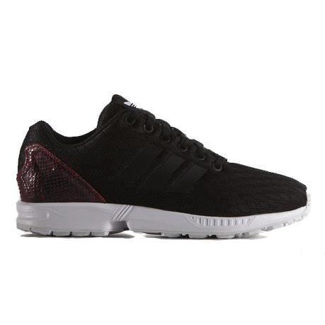 adidas zx flux w noir et or