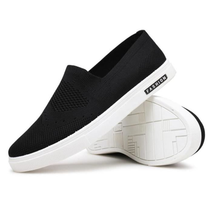 Espadrille Hommes Ultra Comfortable Mode Chaussures Détente FXG-XZ038Noir44 v57nUdvwu7