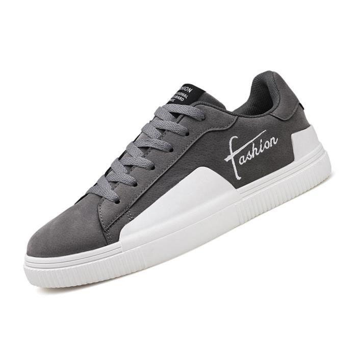 Mode Hommes Plus Homme Confortable Antidérapant Chaussure Chaussures Décontractées Sneaker Plates Couleur Personnalité De qH5qxtwS