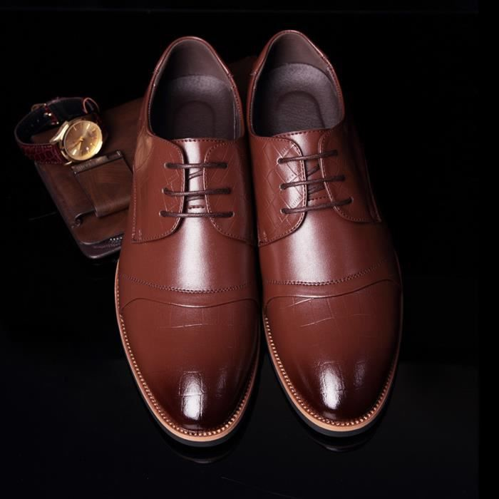 chaussures en cuir Business hommes chaussures h... mq5gIehTw