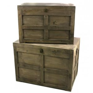 petit coffre bois achat vente petit coffre bois pas cher cdiscount. Black Bedroom Furniture Sets. Home Design Ideas