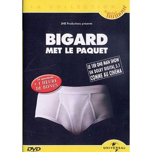 DVD SPECTACLE BIGARD : Met le paquet