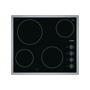 PLAQUE VITROCÉRAMIQUE  Plaque de cuisson BOSCH - PKE 645 CA 1 E • Plaque
