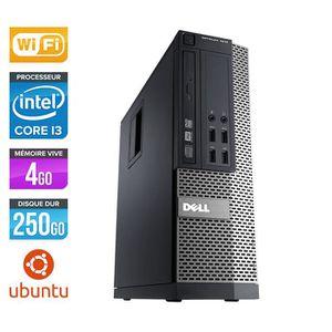 UNITÉ CENTRALE  PC Dell 790 SFF - Core i3 - 4Go - 250Go - Wifi -Li