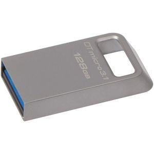 DISQUE DUR SSD Kingston DataTraveler Micro 3.1 Clé USB 128 Go USB