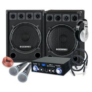 PACK ACCESSOIRES McGrey DJ système de karaoké Party-2500 1600W