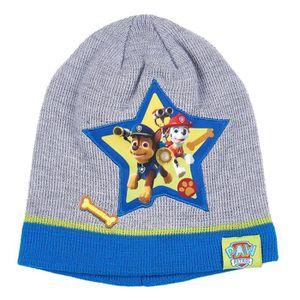 BONNET - CAGOULE Bonnet enfant garçon La Pat  Patrouille Gris bleu 8b7d3347e01