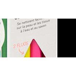 FEUTRES Boite de 16 feutres ultralavables Multicolore