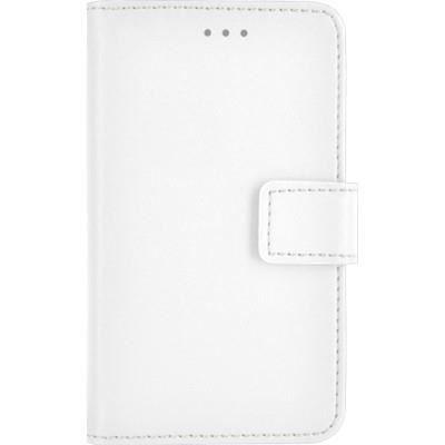 BIGBEN Etui de protection folio universel L pour smartphone - Blanc