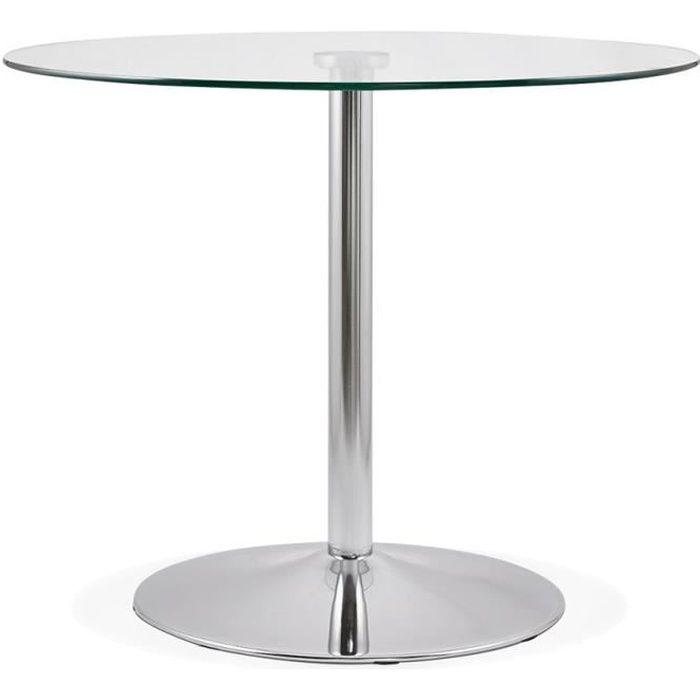 Petite table ronde cuisine cheap une petite table de for Petite table de cuisine ronde