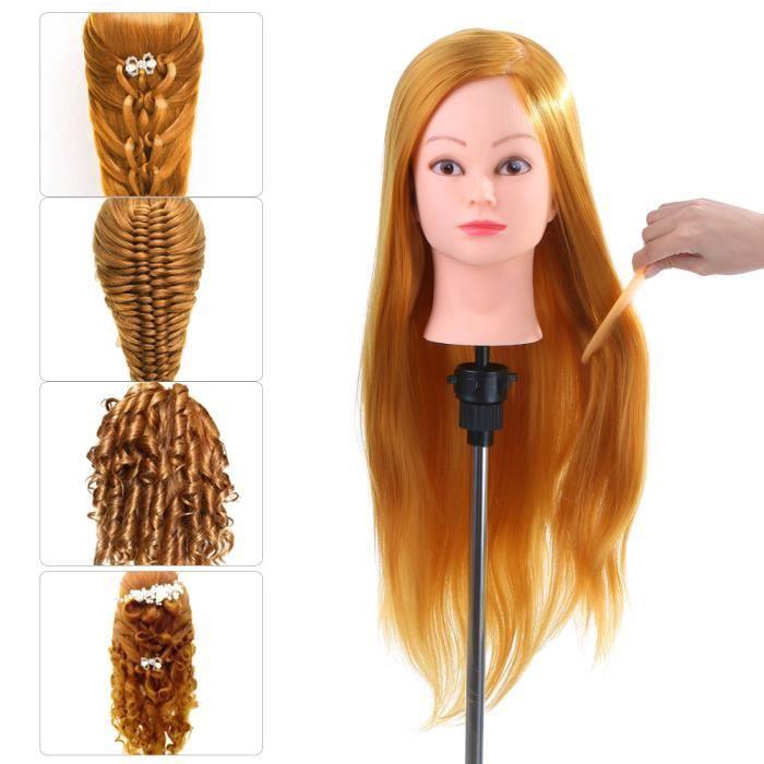 tete a coiffer professionnel cheveu humain - achat / vente tete a