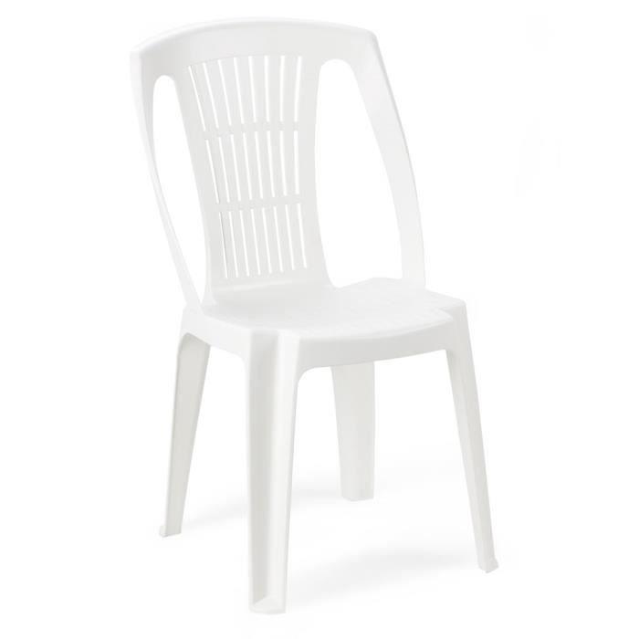 Lot 4 chaises jardin achat vente lot 4 chaises jardin for Chaise longue jardin plastique blanc