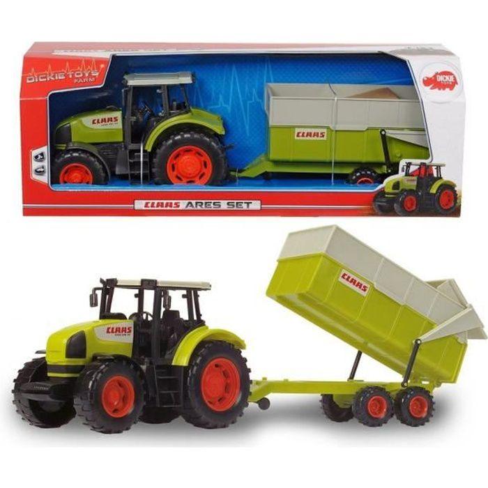 3e56c6e2a53939 Tracteur avec remorque telecommande - Achat   Vente jeux et jouets ...
