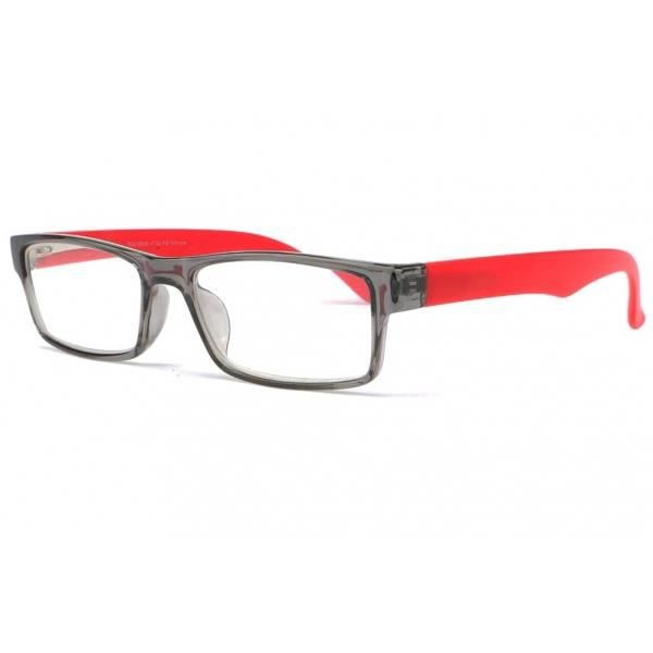e304498853 Lunettes loupe rouge et grise Saty - Rouge - Dioptrie 3 - Achat ...
