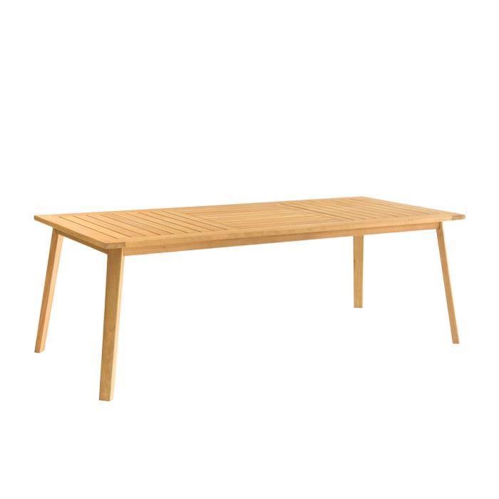 Table de jardin bois 8 personnes - Achat / Vente pas cher