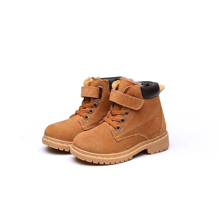 Bottes Enfant plus chaussures de neige bottes de neige chaussures de coton chaud