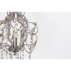 lustre noir baroque achat vente pas cher. Black Bedroom Furniture Sets. Home Design Ideas