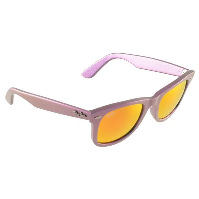 Ray Ban RB 2140 Rose Violet Taille : 50