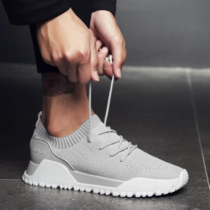 Chaussures à Masculines Sport lacets Homme de Basket Running Chaussures q0II5